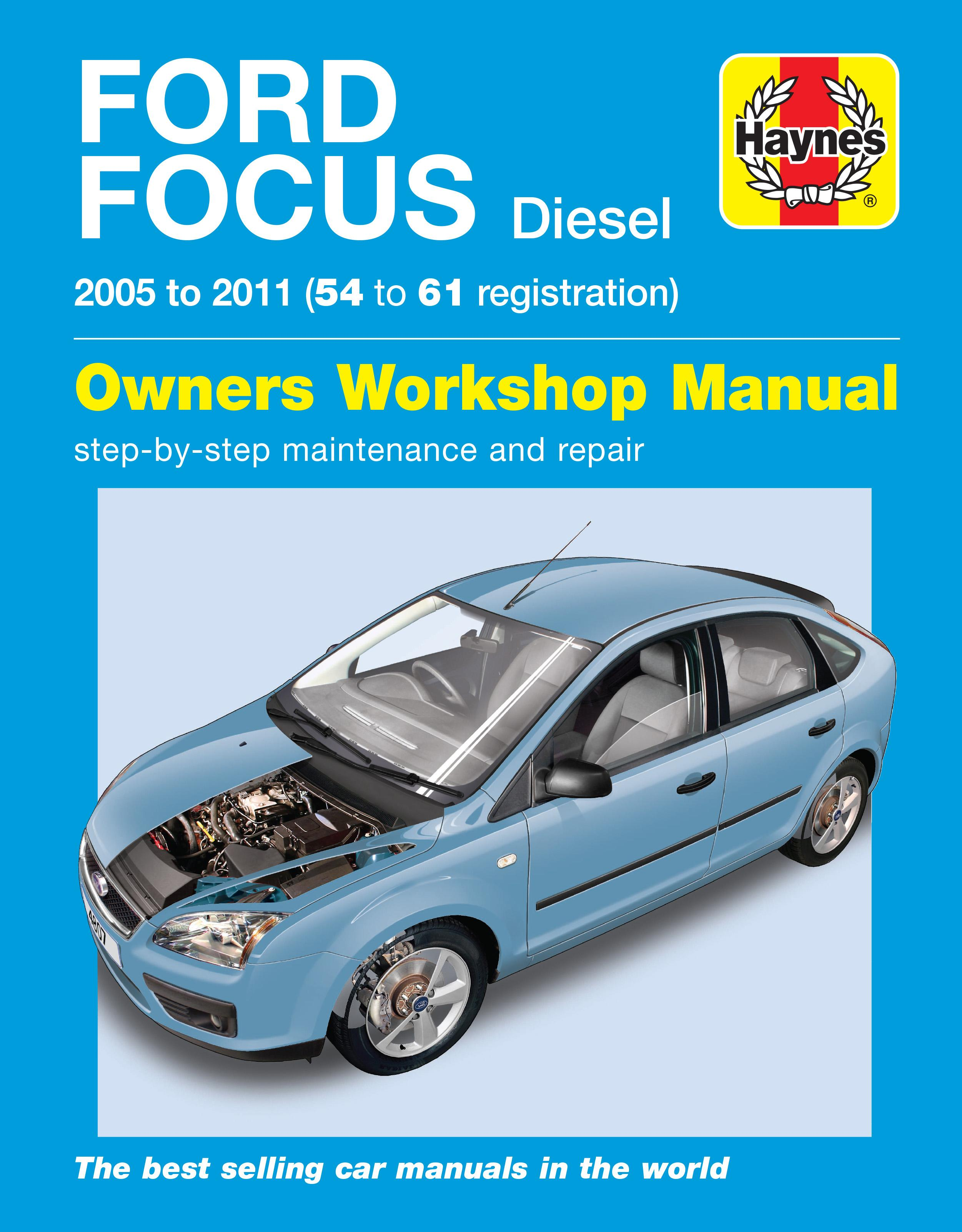 haynes ford focus diesel 05 09 ma rh halfords com 2007 Ford Focus Shop Manual 2007 Ford Focus Manual Book