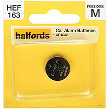 image of Halfords Car Alarm Coin Cell Battery CR1632