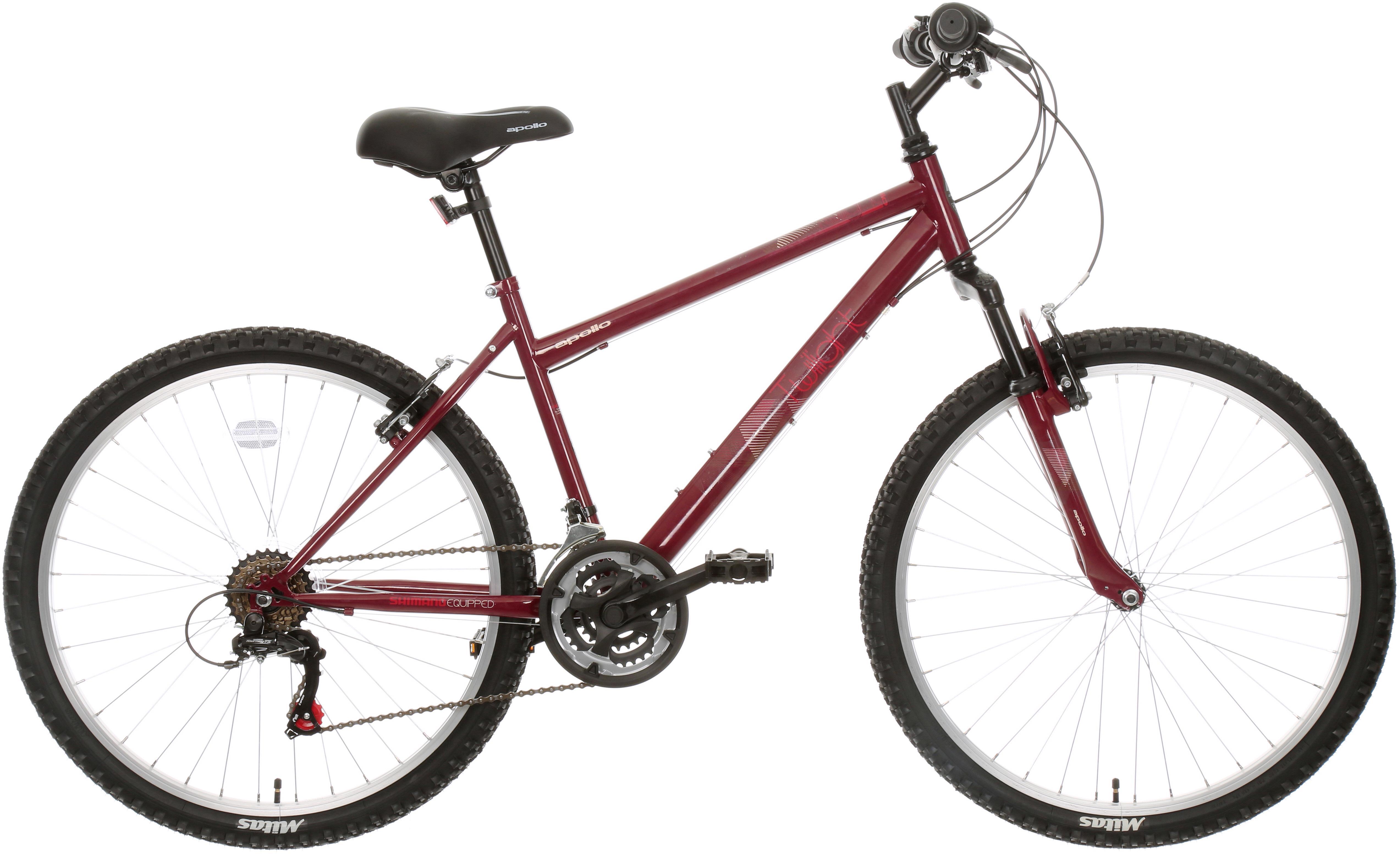 Apollo Twilight Womens Mountain Bike - Red - S