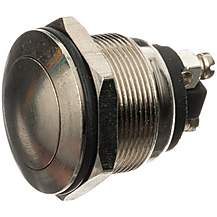 image of Halfords Switch Horn/Start Button Brass Plated HEF612