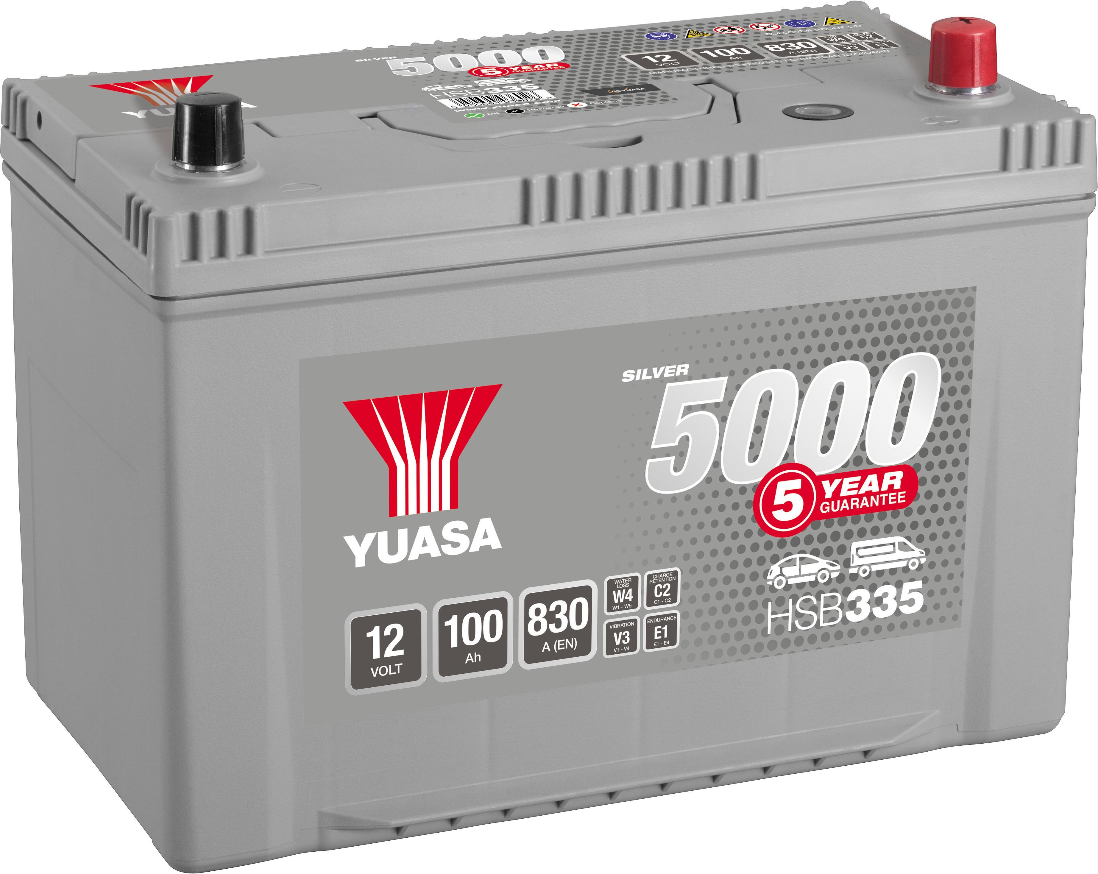 Yuasa Silver Batteries