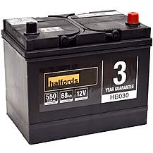 image of Halfords HB030 Lead Acid 12V Car Battery 3 Year Guarantee