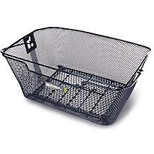 image of Basil Capri Rear Hook-On Bike Basket - Black
