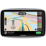 "image of Tom Tom Go Premium 6"" Sat Nav with lifetime updates, World maps and IFTTT functionality"