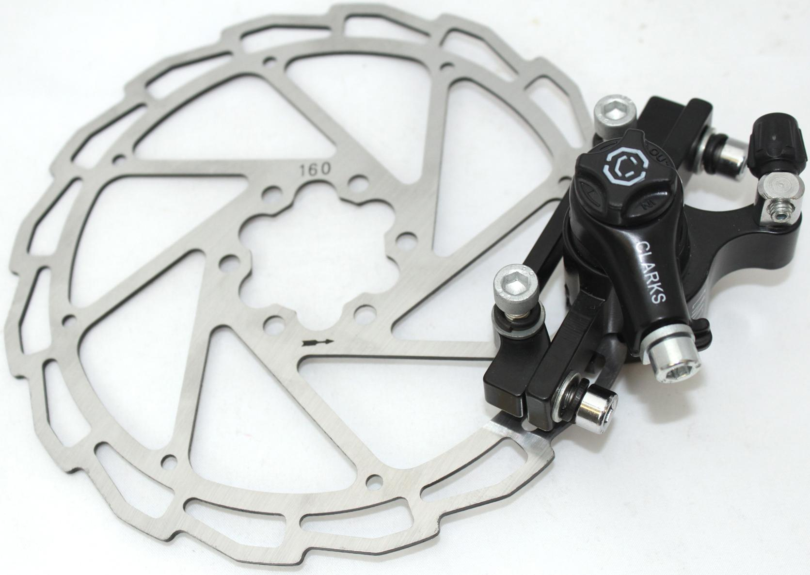 Clarks Mechanical Mountain Bike Brake System - 160Mm