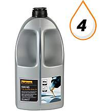 image of Halfords 5W40 Fully Synthetic Oil 5L