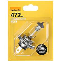 image of Halfords 472 H4 Car Bulb x 1