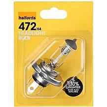 image of Halfords 472 H4 Car Bulb x 1