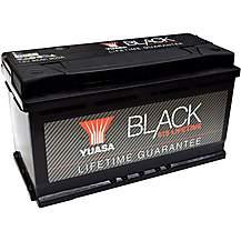 image of Yuasa Lifetime Guarantee 019 Black 12V Car Battery