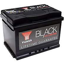 image of Yuasa Lifetime Guarantee 075 Black 12V Car Battery