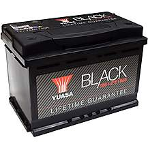 image of Yuasa Lifetime Guarantee 096 Black 12V Car Battery