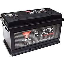 image of Yuasa Lifetime Guarantee 110 Black 12V Car Battery