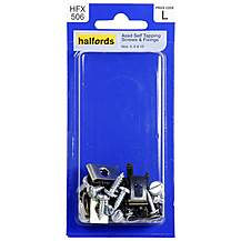 image of Halfords Assorted Self Tapping Screws & Fixings (HFX506)