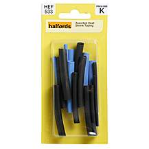 image of Halfords Assorted Heatshrink Tubing (HFX531)