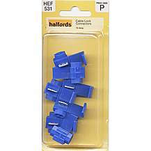 image of Halfords Cable Lock Connectors (HEF531) 15 Amp