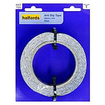 image of Halfords Anti-Slip Tape 50mmx5m Black