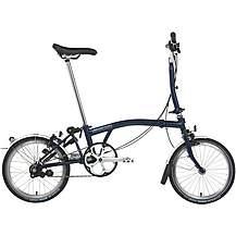 Brompton M3L Folding Bike - Tempest Blue - 16