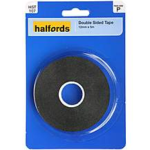 image of Halfords Double Sided Tape 12mm x 5m