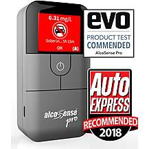 image of Alcosense Pro Breathalyser - Over 25 Countries