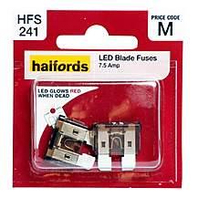 image of Halfords LED Blade Fuses 7.5Amp