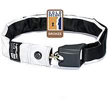 image of Hiplok Superbright Wearable Chain Lock - Lite