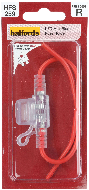 halfords mini blade fuse holder for rh halfords com