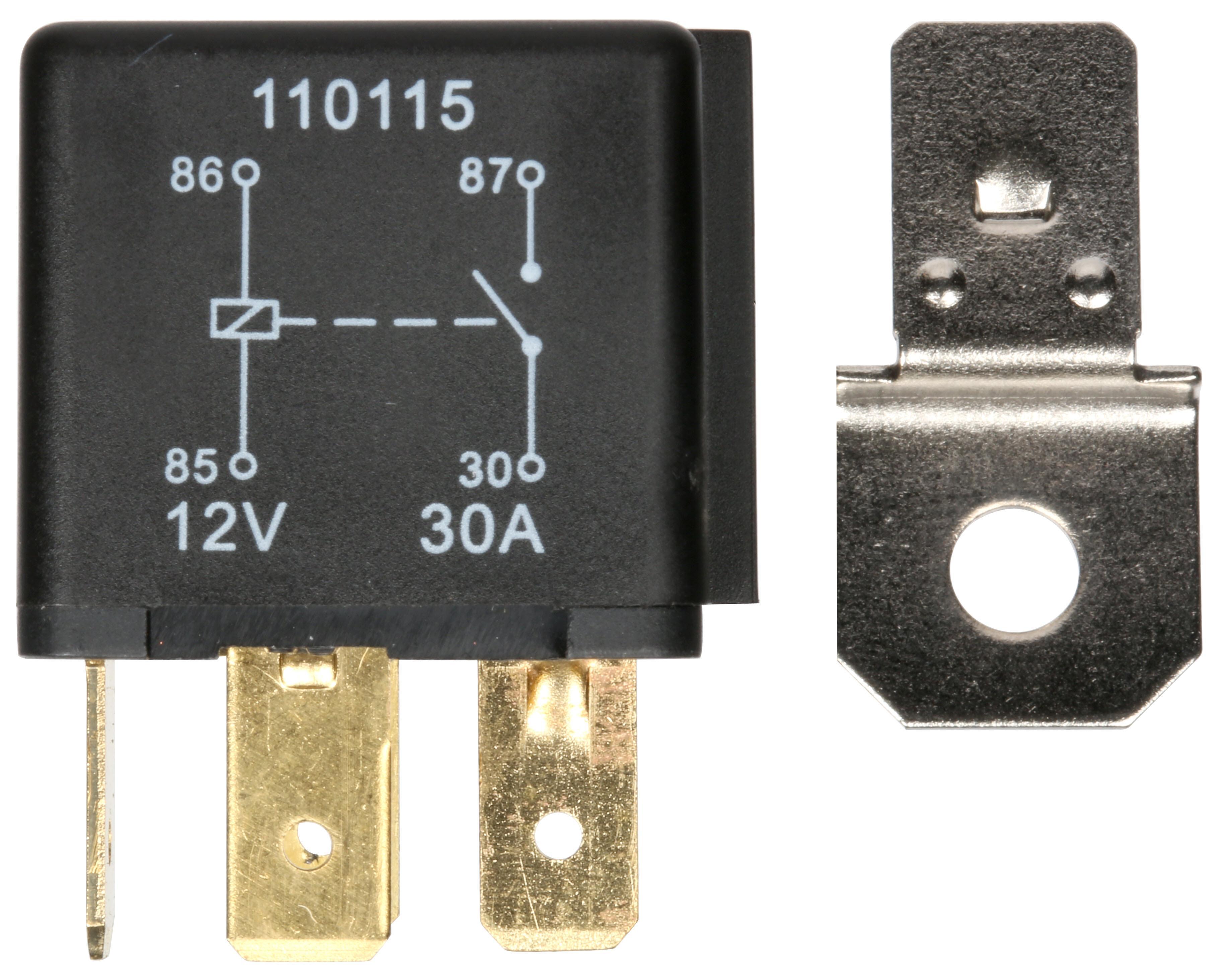 12v Fuse Box Halfords Circuit Connection Diagram Dc For Camper Hef554 Relay 30amp 4 Rh Com Block Panel