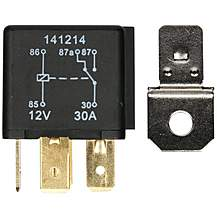 image of Halfords HEF558 Relay 12V 2 x 30A 5 PIN
