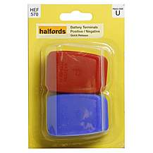 Halfords Battery Terminals - Quick Release