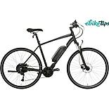 "Carrera Crossfire E Mens Electric Hybrid Bike - 17"", 19"", 21"" Frames"