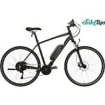 "image of Carrera Crossfire E Mens Electric Hybrid Bike - 17"", 19"", 21"" Frames"