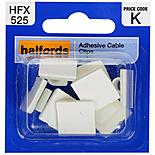 Halfords Adhesive Cable Clips