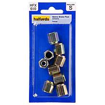image of Halfords Brake Pipe Unions Metric Female