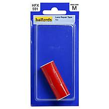 image of Halfords Lens Repair Tape Red