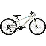 "image of Wiggins Chartres Junior Hybrid Bike - 24"" Wheel - White"