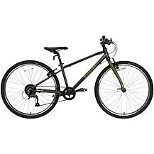 "image of Wiggins Chartres Junior Hybrid Bike - 26"" Wheel - Grey"