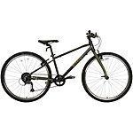 "image of Wiggins Chartres Junior Hybrid Bike - 26"" Wheel - Grey"