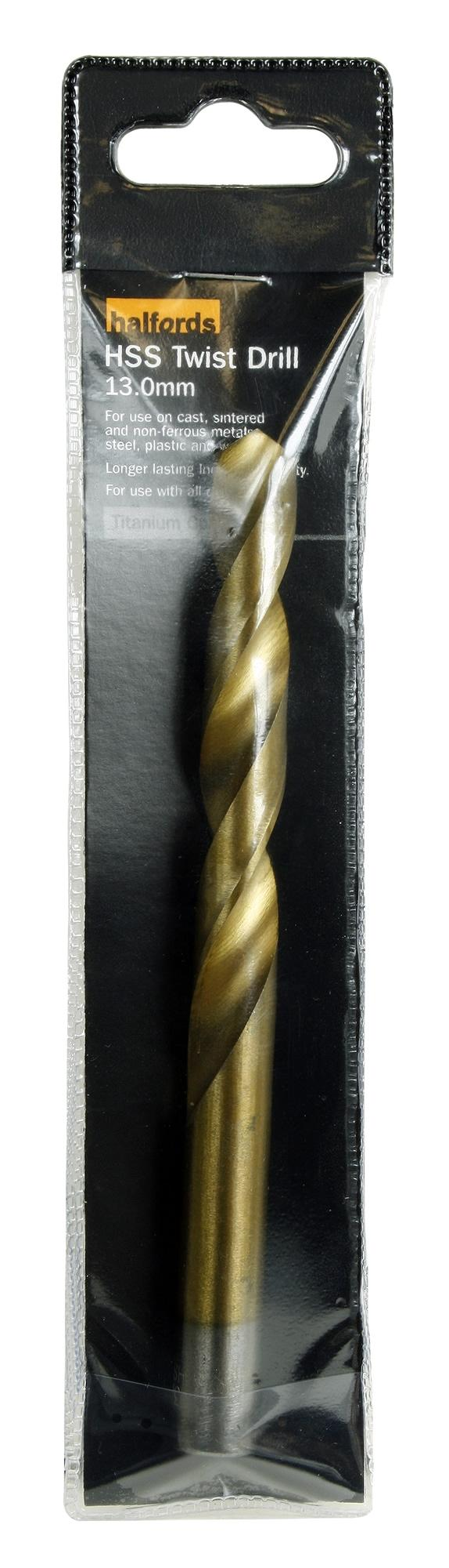 Image of Halfords HSS Twist Drills 13mm