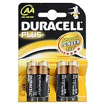 image of Duracell Plus 4 x AA Batteries
