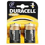 Duracell Plus 2 x D Batteries