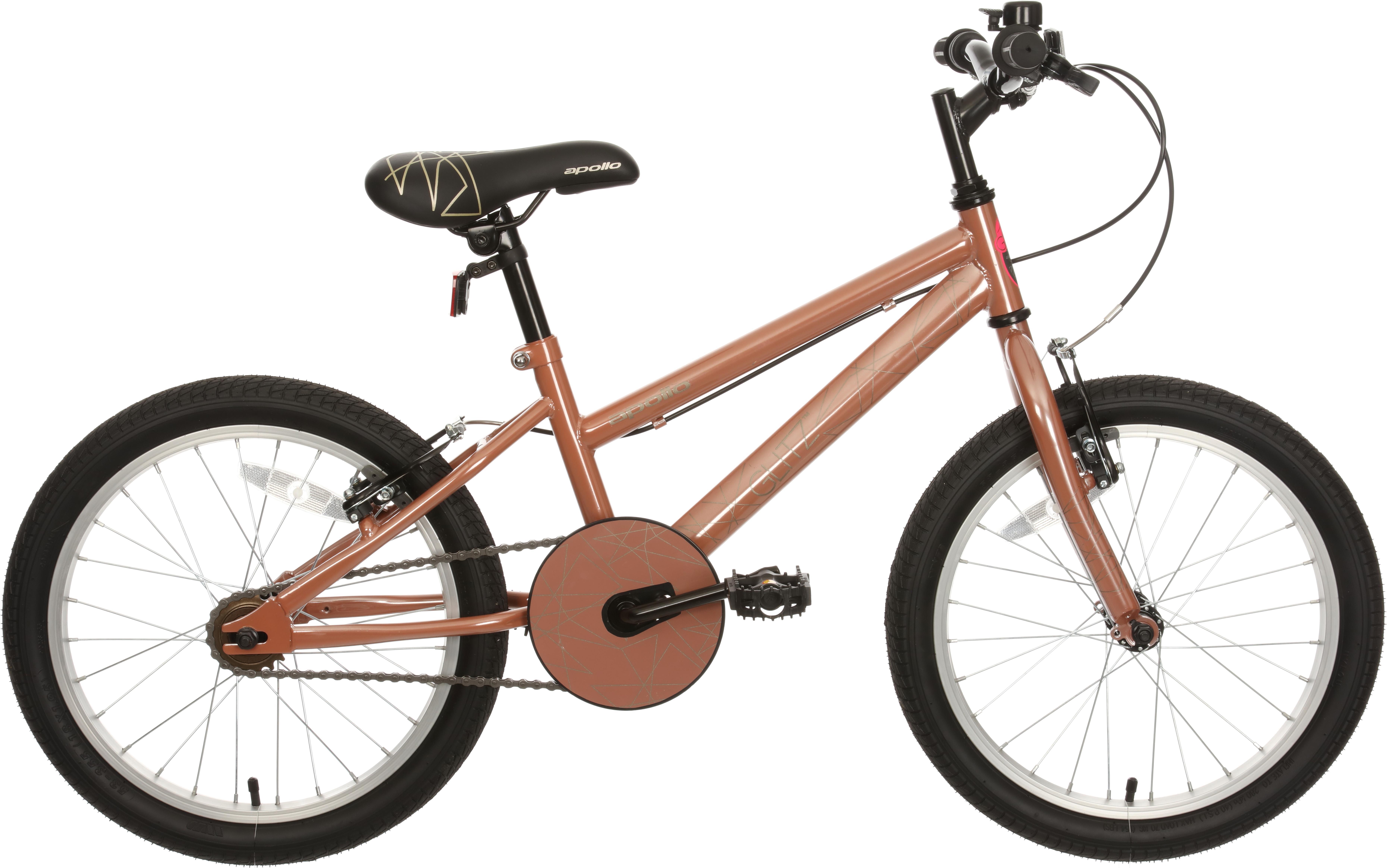 Apollo Glitz Kids Bike   18 Inch Wheel
