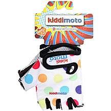 image of Kiddimoto Pastel Dotty Mitts