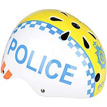 image of Kiddimoto Police Kids Helmet