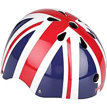 image of Kiddimoto Union Jack Kids Helmet