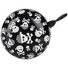 image of Kiddimoto Skullz Kids Bike Bell