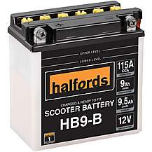 image of Halfords Scooter Battery HB9-B