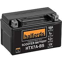 image of Halfords Scooter Battery HTX7A-BS