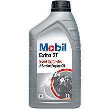 image of Mobil Extra 2T Motorcycle Oil 1 Litre