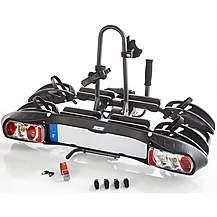 image of Mottez Electric 2-Bike Towbar Mounted Bike Rack