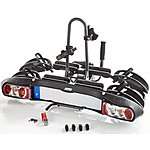 image of Mottez Electric Bike Towbar Mounted Cycle Carrier - 2 Bikes